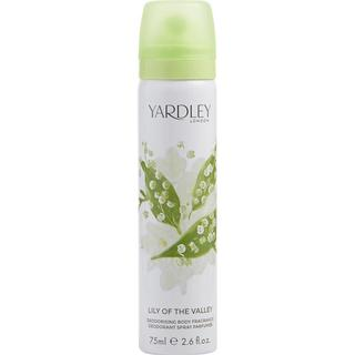 Yardley Lily of the Valley Deodorising Body Spray 75ml