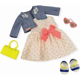 Our Generation Deluxe Dress with Hearts