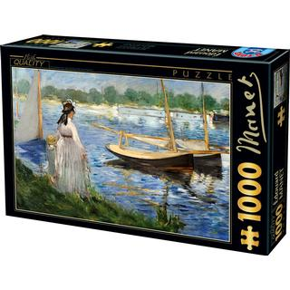 Dtoys The Banks of The Seine at Argenteuil 1000 Pieces