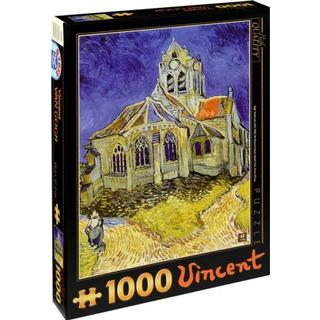 Dtoys The Church at Auvers 1000 Pieces