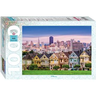 Step Puzzle The Painted Ladies of San Francisco 1000 Pieces