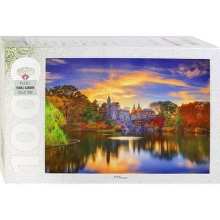 Step Puzzle Belvedere Castle Central Park Manhattan 1000 Pieces