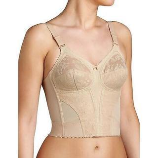 Triumph Doreen Longline Non Wired Bra - Skin