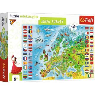 Trefl Map of Europe