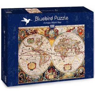 Antique World Map 1000 Pieces