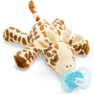 Philips Avent Ultra Soft Snuggle Giraffe Pacifier