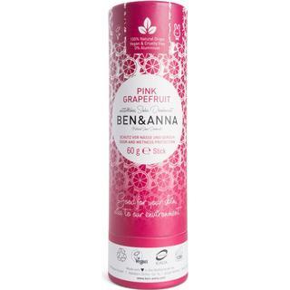 Ben & Anna Pink Grapefruit Paper Deo Stick 60g