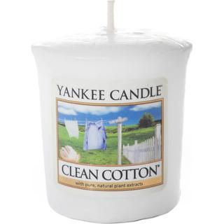 Yankee Candle Clean Cotton Votive Scented Candles