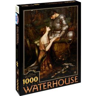 Dtoys Waterhouse John William Lamia 1000 Pieces
