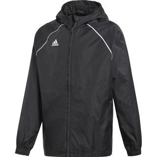 Adidas Kid's Core 18 Rain Jacket - Black/White (CE9047)