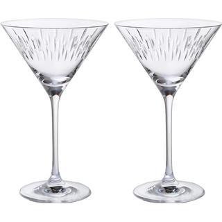 Dartington Limelight Martini Cocktail Glass 21 cl 2 pcs