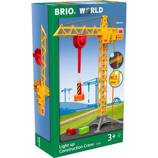 Brio Light Up Construction Crane 33835