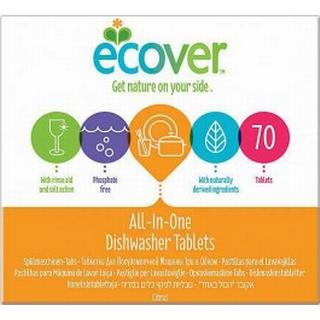 Ecover All In One Dishwasher 70 Tablets