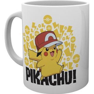 GB Eye Pokemon Ash Hat Pikachu Cup 29.5 cl