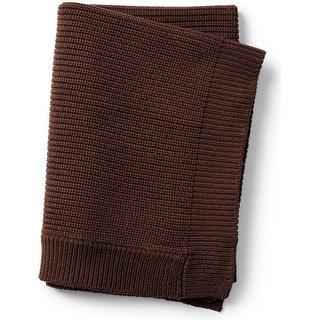 Elodie Details Wool Knitted Blanket Chocolate