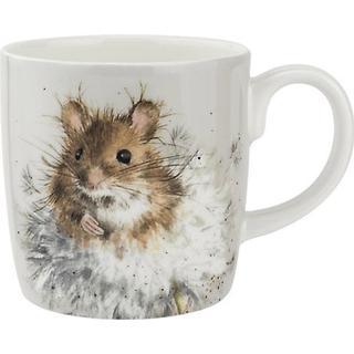 Royal Worcester Wrendale Designs Dandelion Mouse Cup 40 cl