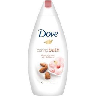 Dove Caring Bath Almond Cream with Hibiscus Body Wash 750ml