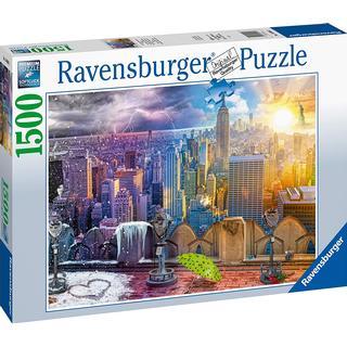 Ravensburger New York Winter & Summer 1500 Pieces