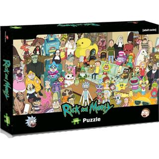 Winning Moves Rick & Morty 1000 Pieces