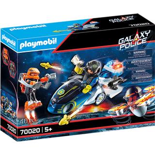Playmobil Galaxy Police Bike 70020