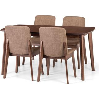 Julian Bowen Kensington 195cm Dining Set