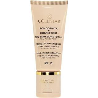 Collistar Foundation + Concealer Total Perfection Duo SPF15 #3 Sand