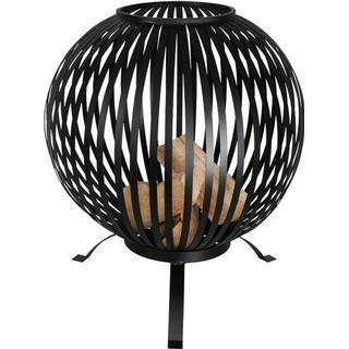 Esschert Design Fire Ball Stripes Black FF400