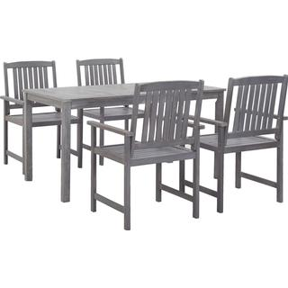 vidaXL 45940 Dining Group, 1 Table inkcl. 4 Chairs