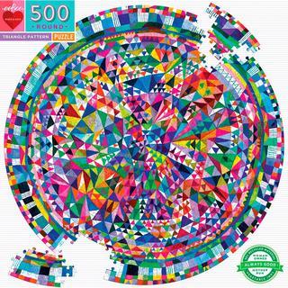 Eeboo Triangle Pattern 500 Pieces