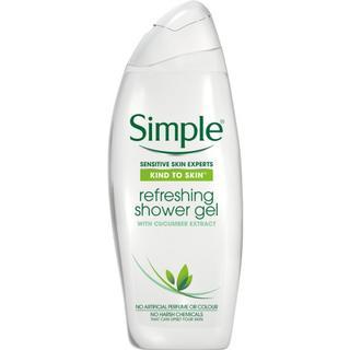 Simple Kind to Skin Refreshing Shower Gel 500ml