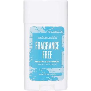 Schmidt's Fragrance Free Sensitive Skin Deo Stick 75g