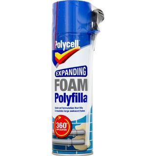 Polycell Expanding Foam Polyfilla 500ml 1pcs