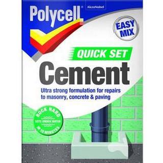 Polycell Quick Set Cement 2kg 1pcs