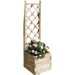 Rowlinson Square Lattice Flower Box 40cm