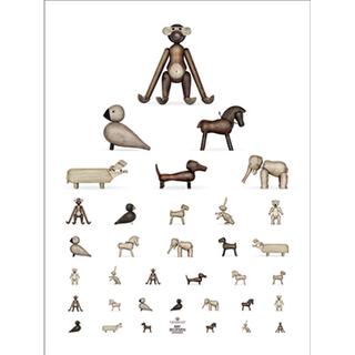 Kay Bojesen Animal 30x40cm Posters