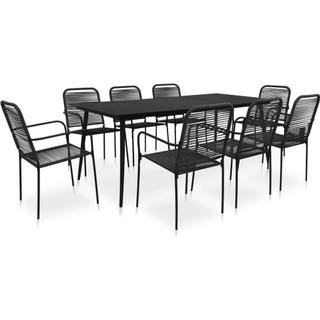 vidaXL 48571 Dining Group, 1 Table inkcl. 8 Chairs