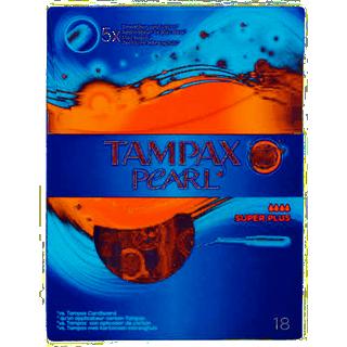 Tampax Pearl Super Plus 18-pack