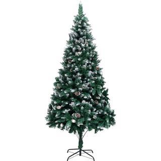 vidaXL Spruce 240cm Christmas tree Christmas decorations