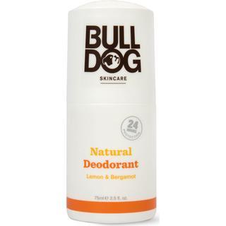 Bulldog Lemon & Bergamot Natural Deo Roll-on 75ml