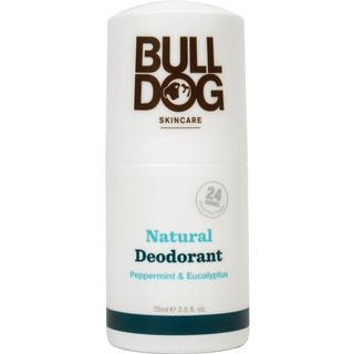Bulldog Peppermint & Eucalyptus Natural Deo Roll-on 75ml