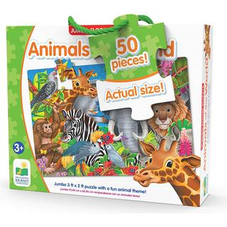 The Learning Journey Animals of The World 50 Pieces