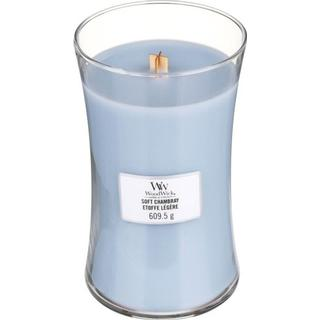 Woodwick Soft Chambray Large Scented Candles
