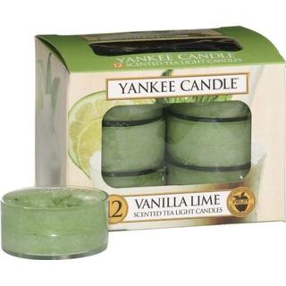 Yankee Candle Vanilla Lime 9.8g 12-pack Scented Candles