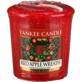 Yankee Candle Red Apple Wreath Votive Scented Candles