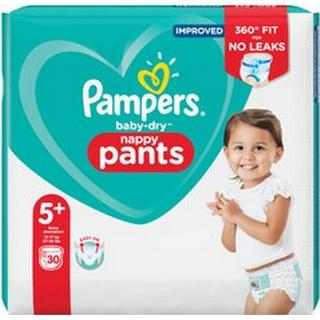 Pampers Baby Dry Nappy Pants Size 5+