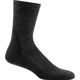 Darn Tough Light Hiker Micro Crew Light Cushion Socks Men - Black