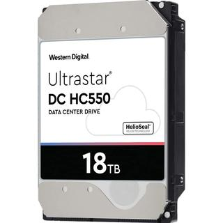 Western Digital Ultrastar DC HC550 WUH721818AL5204 512MB 18TB