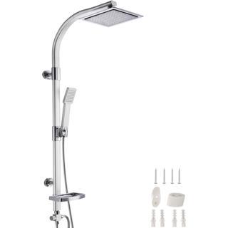 tectake Shower Set (402680) Black