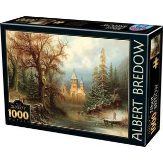 Dtoys Romantic Winter Landscape 1000 Pieces
