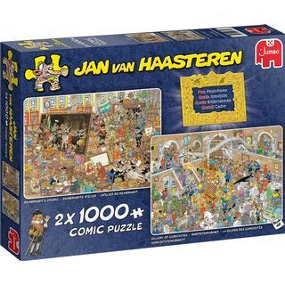 Jumbo Jan Van Haasteren A Trip to The Museum 2x1000 Pieces
